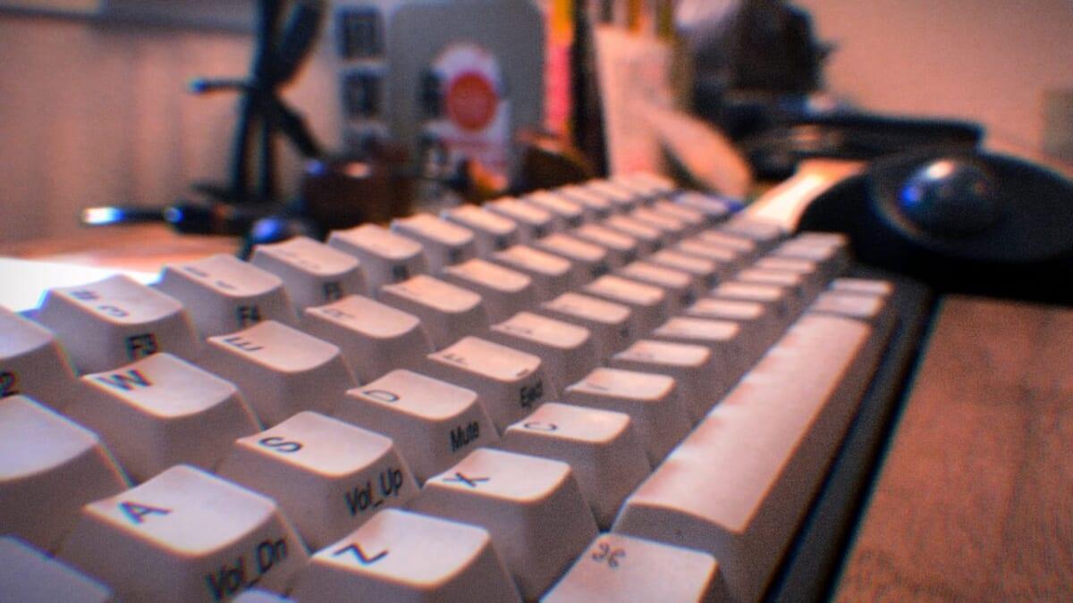 HHKBのキーボードです