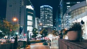 大阪の美しい夜景
