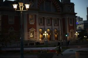大好きな夕方の中之島公会堂