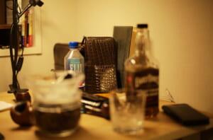 クロコダイルの作品と飲み物
