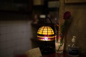 きれいなランプとバラ