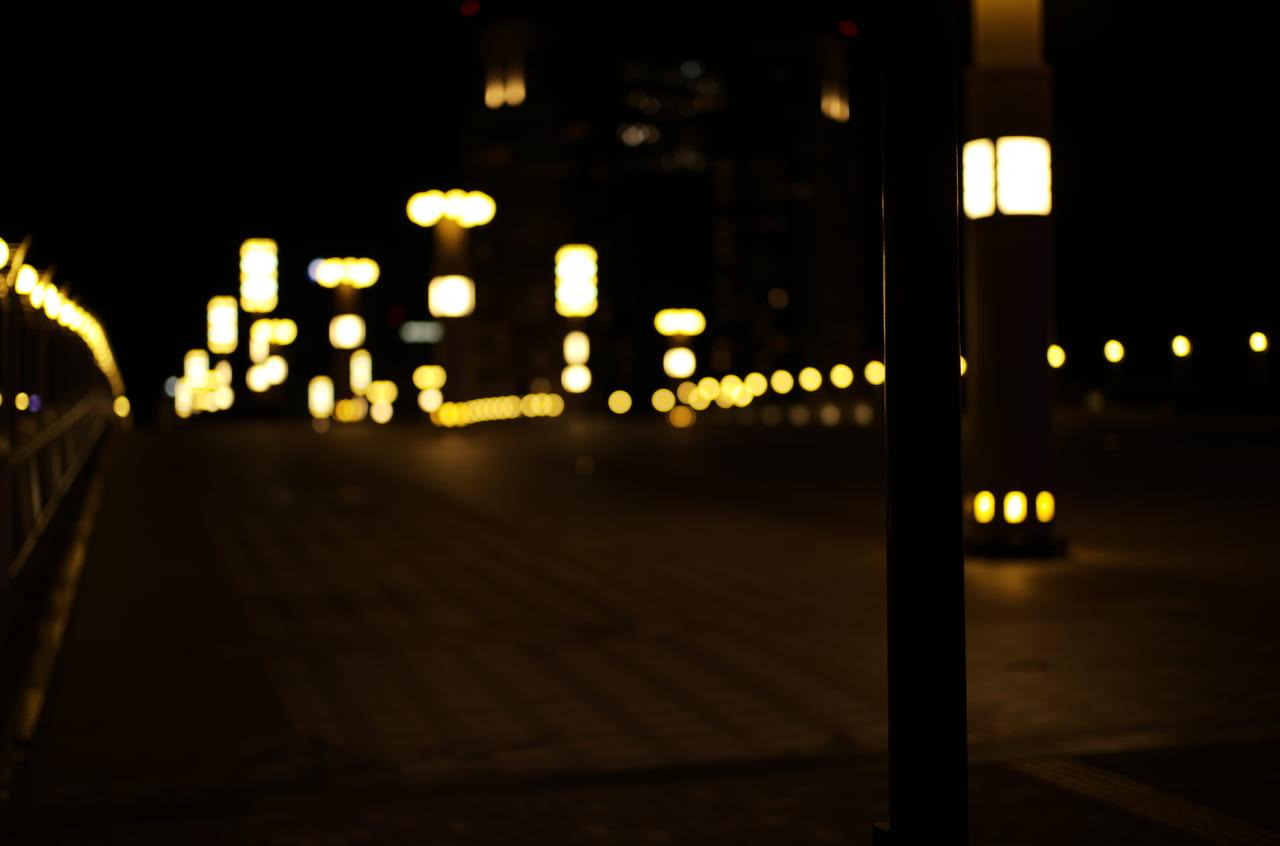 見ていてうっとりする橋の夜景と照明