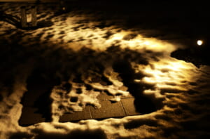 ため息が出るほど美しい雪と間接照明