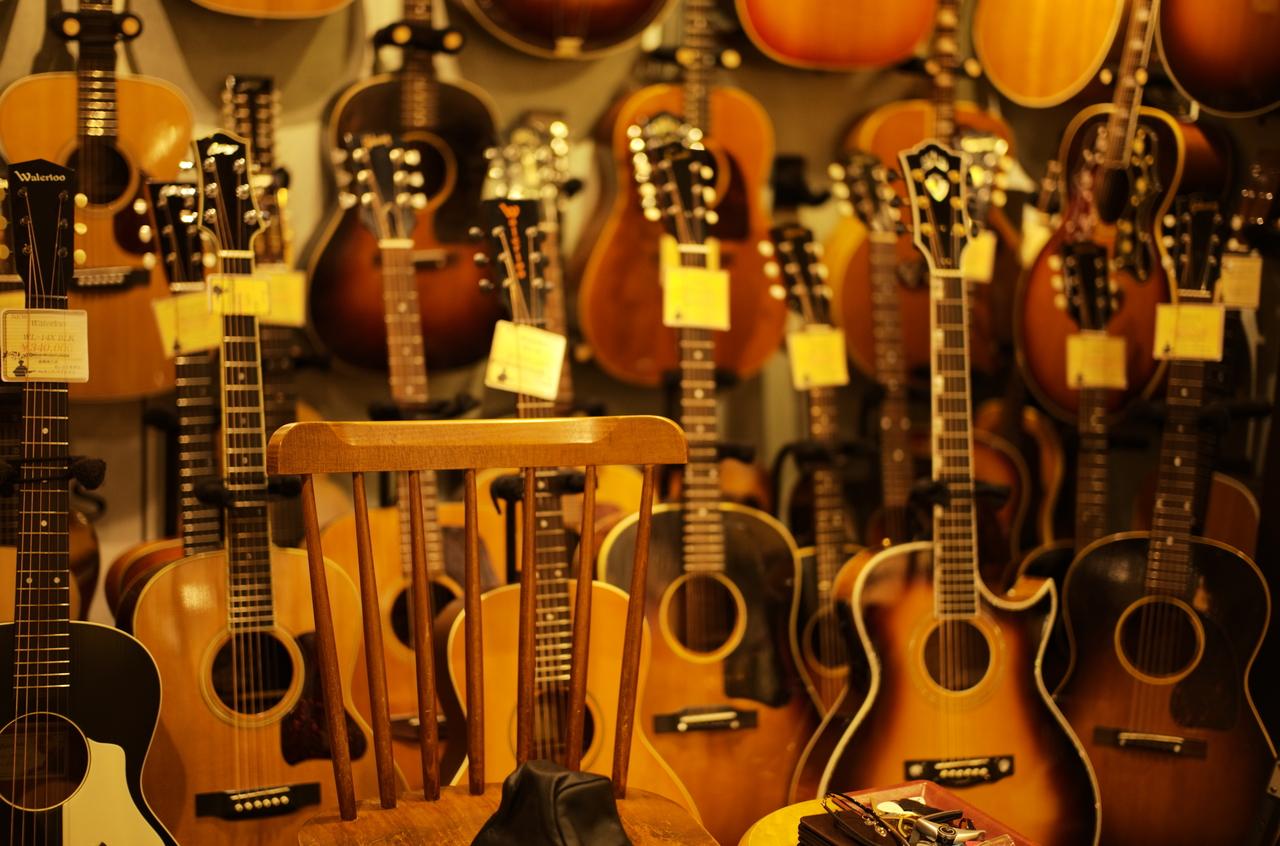 素敵なギター達