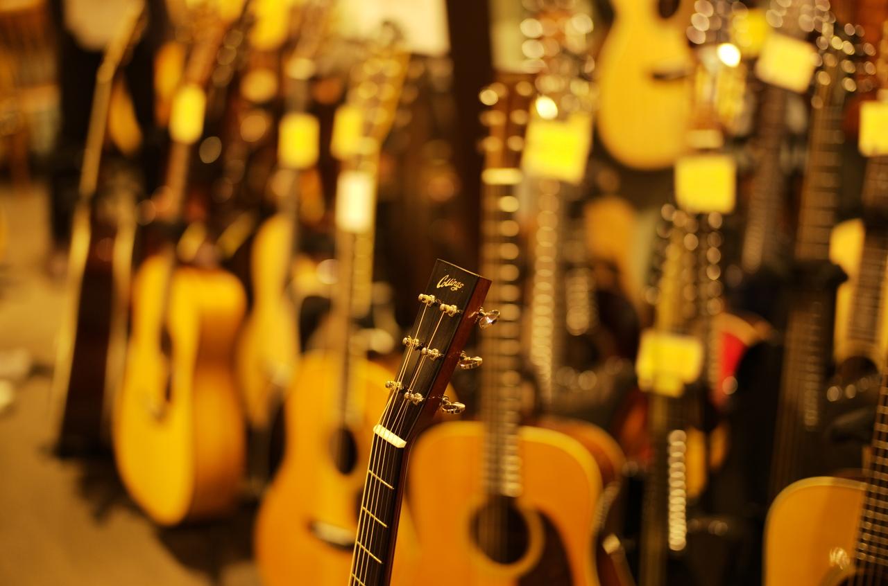 素晴らしいギターの様子