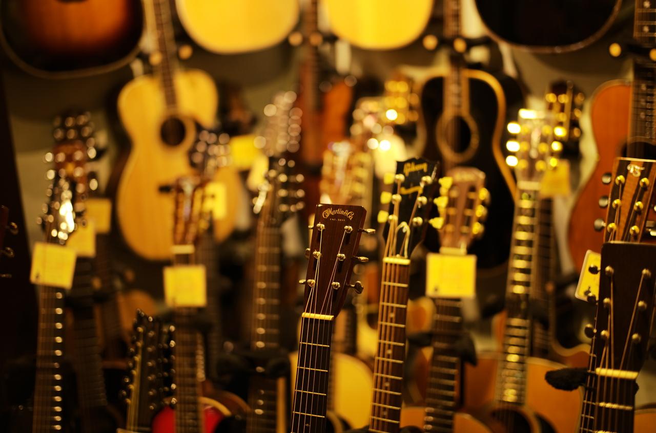 素晴らしいアコースティックギター達