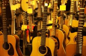 かっこいいギターの写真