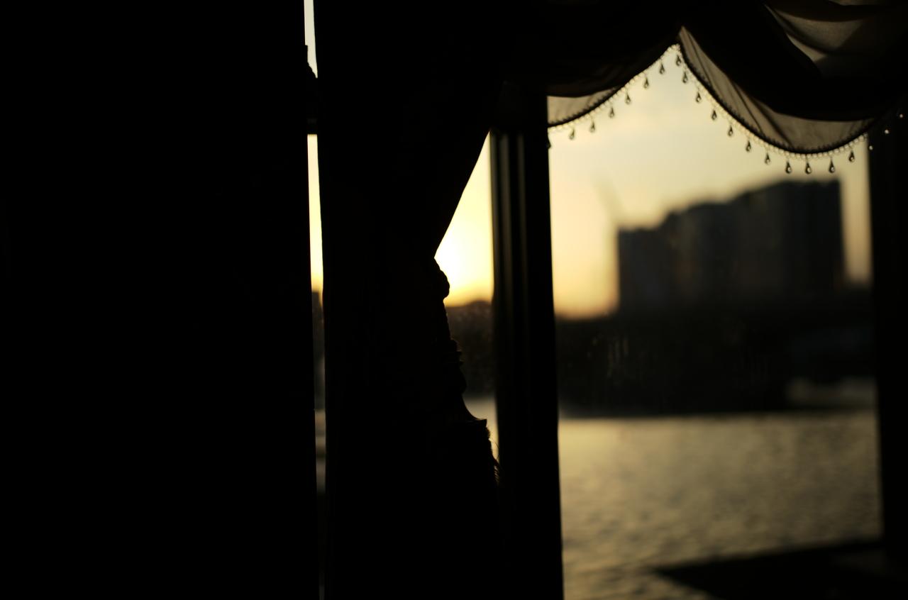 ライカで撮影したかっこいい夕陽と逆光