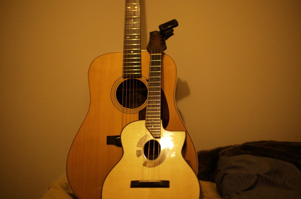 かっこいいウクレレとギター