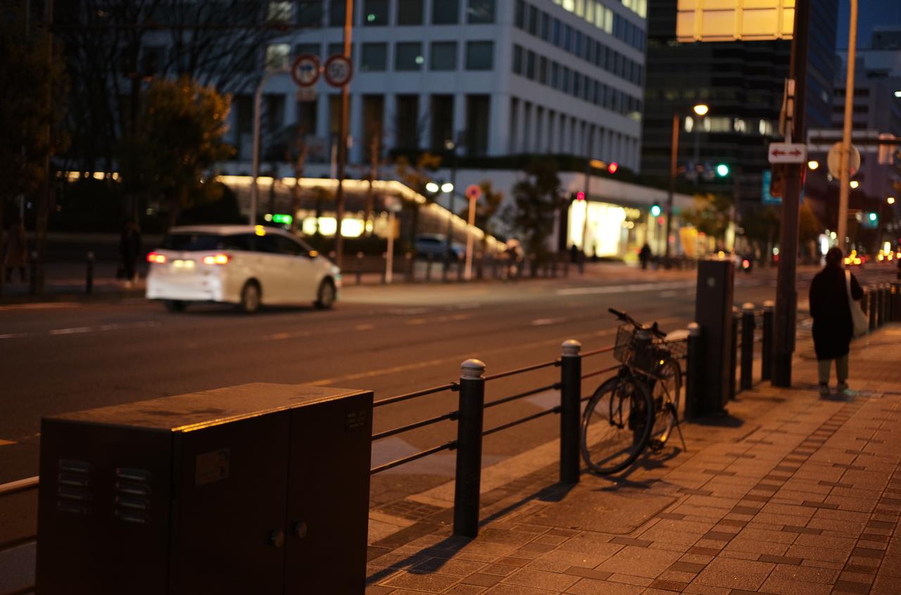 ライカで撮影した本町通りと夜景