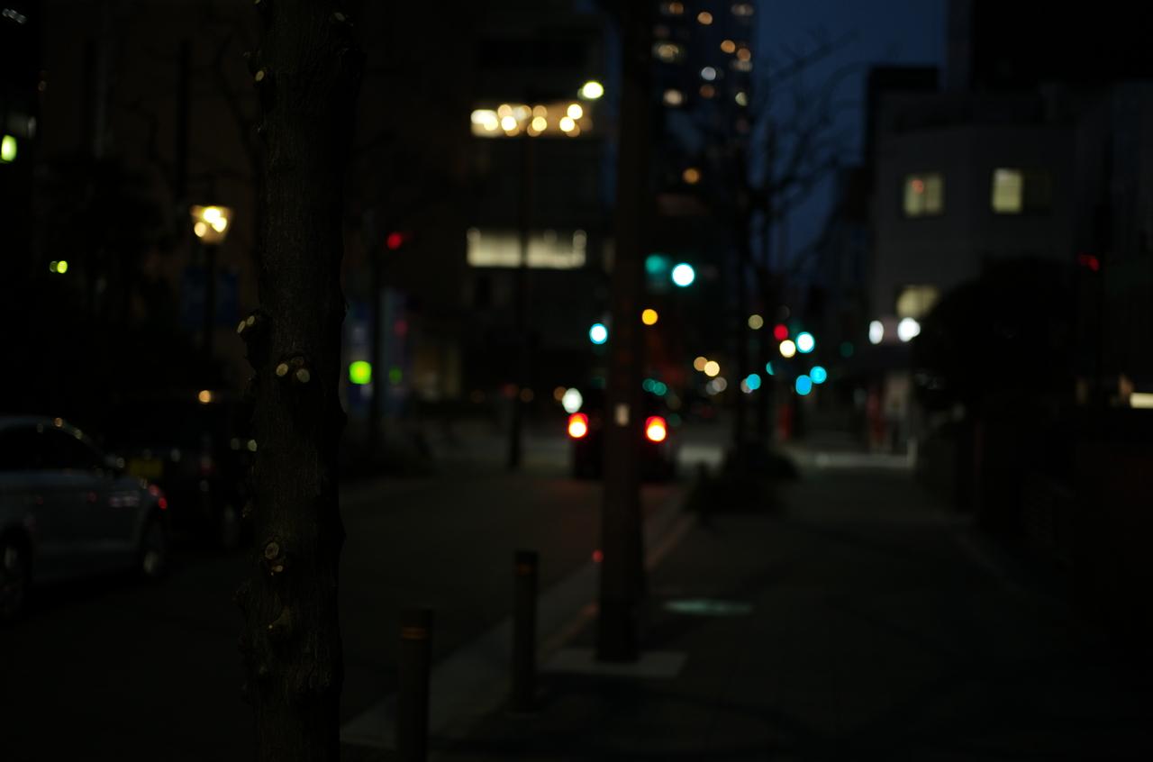 素敵な夜道