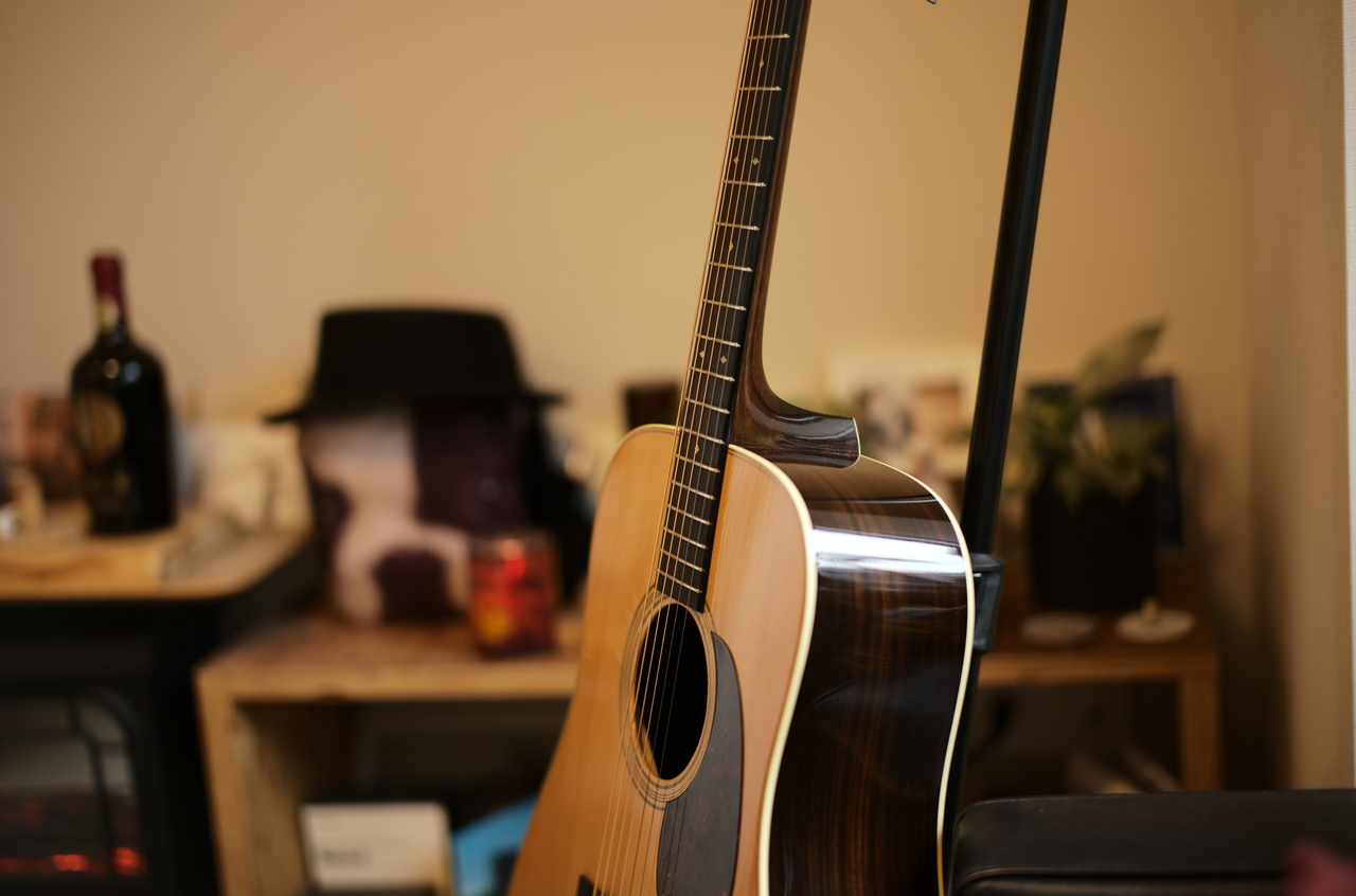 美しいCollingsのギター