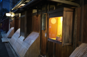美しい京都の町家