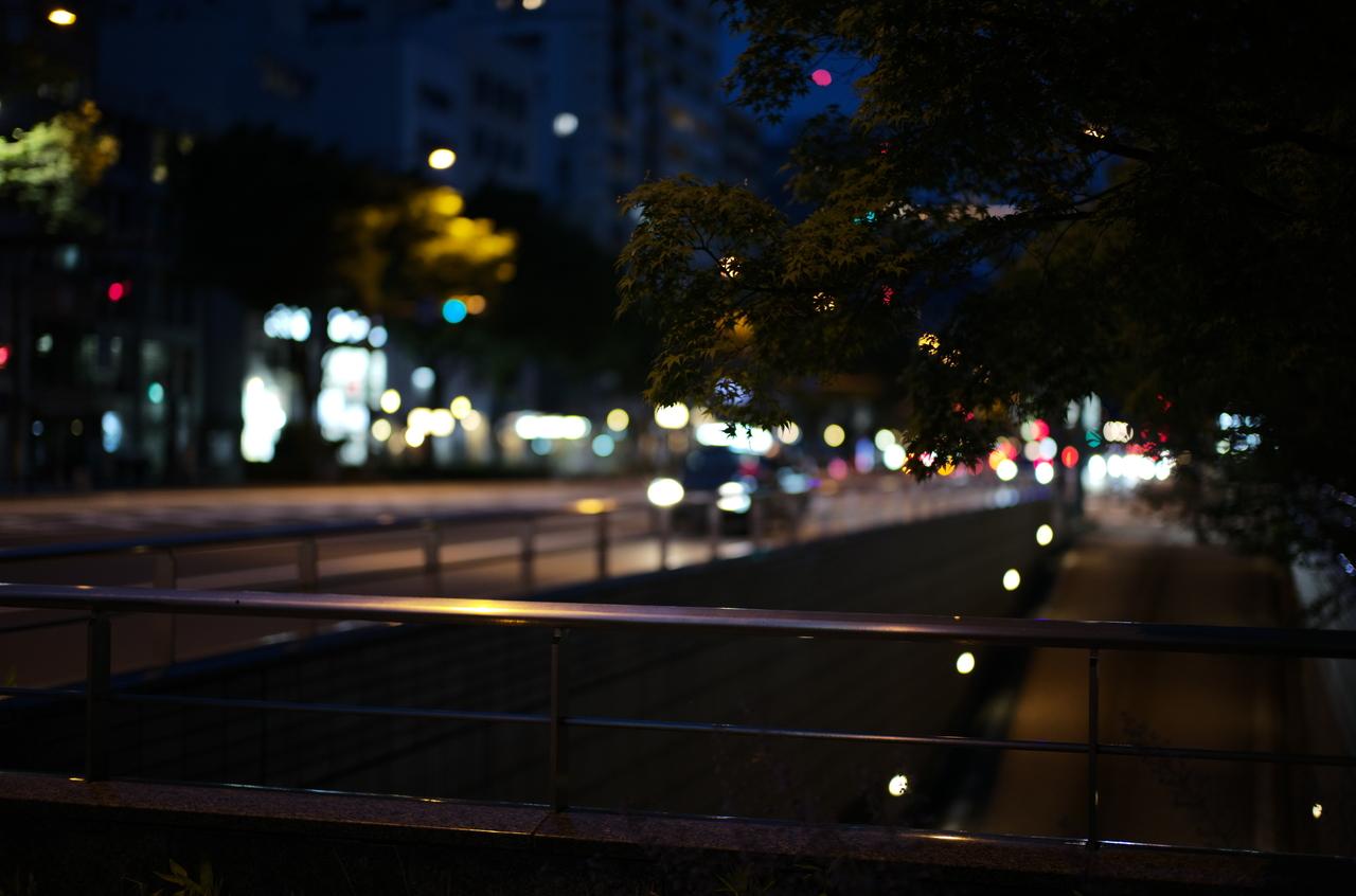 美しい御池通の夜景