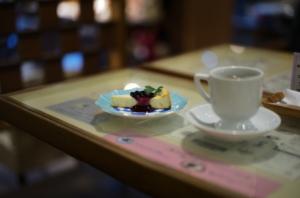 京都の老舗喫茶店とケーキ