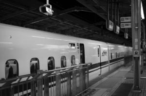 新幹線のフォーム