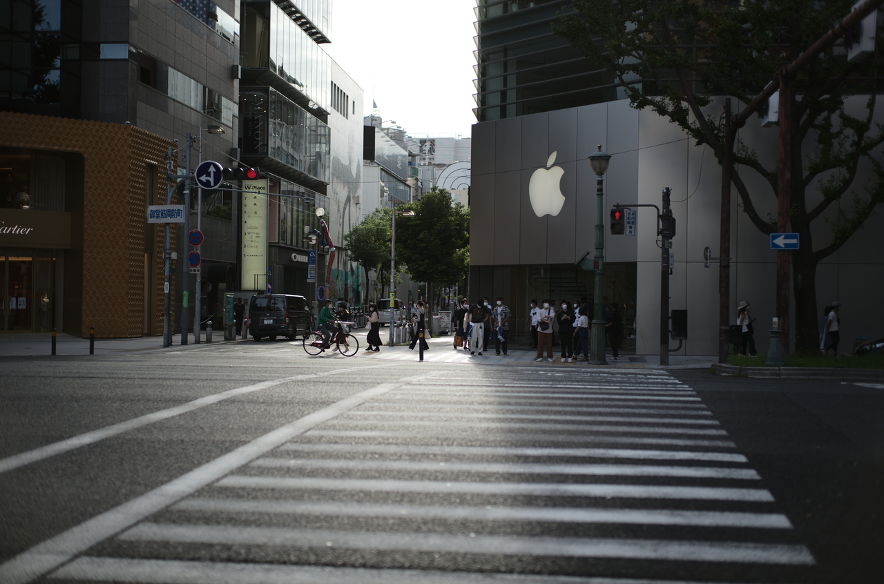 apple心斎橋の素敵な写真